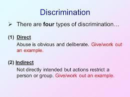 prejudice discrimination and disadvantage ppt video online download