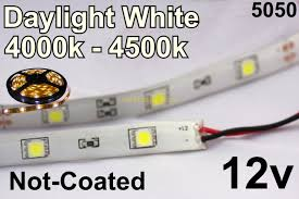 led daylight strip light 12v daylight white flexible led strip 16 roll 5050 30 m 150 roll