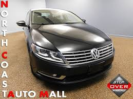 2013 used volkswagen cc 4dr sedan manual sport w leds pzev at