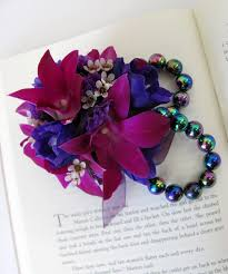 prom wrist corsage ideas worcester florists sprout prom flower blues