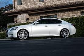 lexus gs 350 tuner wheels niche lucerne m142 silver machined need 4 speed motorsports