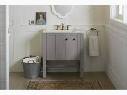 Bathroom Vanity Plumbing Rough In Dimensions K 5289 Tresham 30 Inch Vanity Kohler