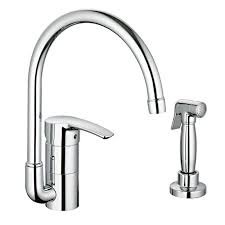 kitchen faucets grohe grohe 33980en1 brushed nickel eurostyle kitchen faucet includes