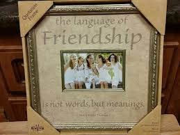 friendship quote photo frame friendship quotes for photo frame unique vintage styled design
