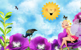 wallpaper laptop lucu bergerak cute fairy in summer hd desktop wallpaper widescreen high