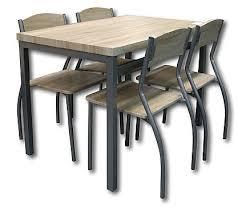 table avec 4 chaises ensemble table et chaises table avec 4 chaises d01002 chêne kreabel