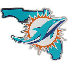 miami dolphins decals auto accessories nfl miami dolphins shop