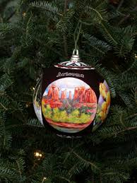 ornaments representing arizona