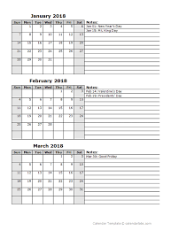printable calendar multiple months 2018 calendar template two months per page free printable templates
