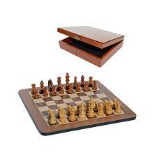 grand staunton chess set u0026 wooden box u2013 tournament size weighted