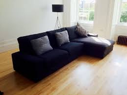 Kivik Sofa And Chaise Lounge Review by Cute Kivik Sofa And Chaise Lounge Dansbo Dark Gray With Home