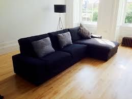 kivik sofa and chaise lounge dansbo dark gray revistapacheco com