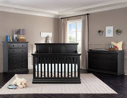 Morgan Convertible Crib by Cameron Panel Crib Black Leon U0027s