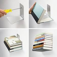 umbra conceal bookshelf gravity defying decor for your books
