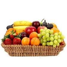 send fruit send 1 kg fruit basket to india 1 kg fruit basket flowerdesire