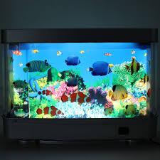 modern shape seabed world lamp children gift led aquarium light