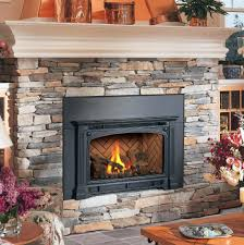 wood install burning stove insert average cost to fireplace