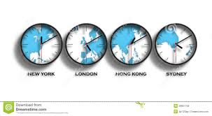 Time Zone Map World Clock by World Map Time Zones Royalty Free Stock Photos Image 28951708