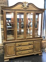 lexington furniture china cabinet gleaton s the marketplace auction this consignment collection