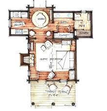 cabin floor plans loft cozy cabin floor plans you can use to your getaway cabin