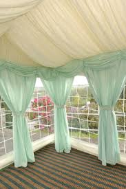 Mint Colored Curtains Mint Drapes For A Pop Of Color In Your Wedding Tent Trend Alert