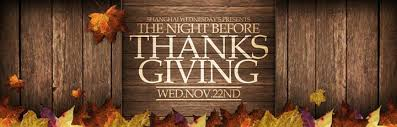 wednesday s the before thanksgiving at mjl mon jin lau