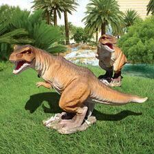 prehistoric animal statues dinosaur bone design toscano
