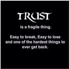 Trust Memes - trust is fragile funny pictures quotes memes funny images