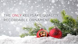 voices the only keepsake quality recordable ornaments