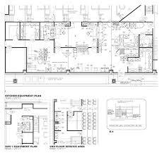 Professional Floor Plans Contemporary Commercial Kitchen Design Layout U Shaped Layouts And