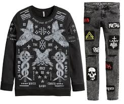 metal band sweaters finntroll s henri sorvali explains h m s metal mistake and the