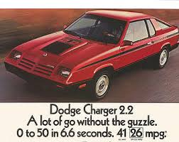 1981 dodge charger 399 omni 024 option 1981 dodge charger 2 2
