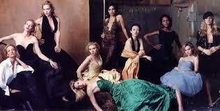 Vanity Fair Cover Shoot Tableau Of Tease Film Www Smh Com Au