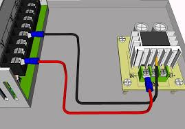 wire dc converter to power supply