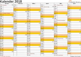Kalender 2018 Hessen Din A4 Kalender 2018 Mit Feiertagen