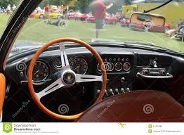 classic lamborghini interior old sports car cockpit editorial photography image 41430392