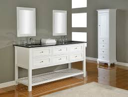 48 Bathroom Vanity With Granite Top Virtu Usa Vincente 48 Single Bathroom Vanity Set With Tempered