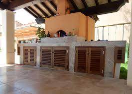 cuisine d été aménagement cuisine ete exterieur exterieure d 39 t bois also amenagement