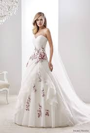 color wedding dresses wedding dress with color