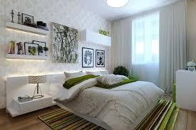 leselen schlafzimmer modernes schlafzimmer in weiß und grün led streifen als akzent