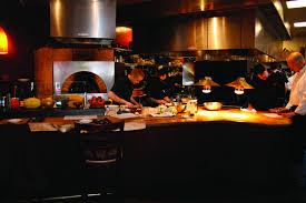 kitchen decorative restaurant open kitchen layout design and