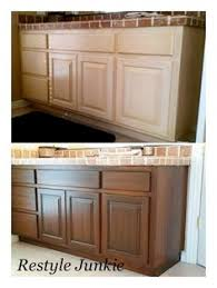 Stains For Kitchen Cabinets Staining Oak Cabinets An Espresso Color Diy Tutorial Espresso