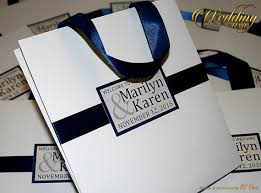 personalized wedding welcome bags 15 wedding welcome bags with satin ribbon and names
