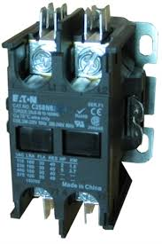 c25bnb220a eaton definite purpose 2 pole contactor rated at 20