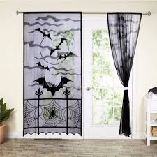 Curtains Home Decor Aliexpress Com Buy Ourwarm 1pc 40x84 Inch Halloween Decorative