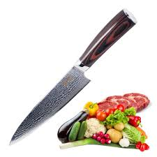 amazon com chefs knife 8 inch japanese vg10 super steel 67 layers