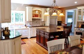 Two Color Kitchen Cabinets Ideas Two Tone Kitchen Cabinets Grey And White Dark Color Countertop