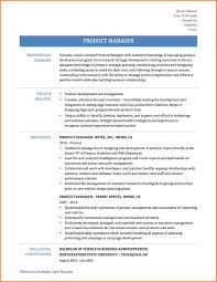 Sprint Resume 9 Product Manager Sample Resume Resume Cover Note