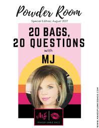 Powder Room Makeup The Powder Room Blog Makeup Junkie Bags