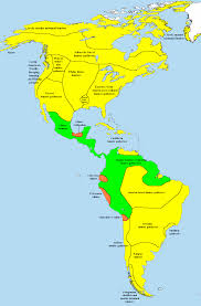 Map Of North And South America by Pre Columbian Era Wikiwand